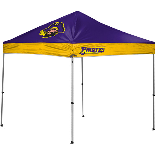 Rawlings NCAA 10' x 10' Straight Leg Canopy, East Carolina Pirates