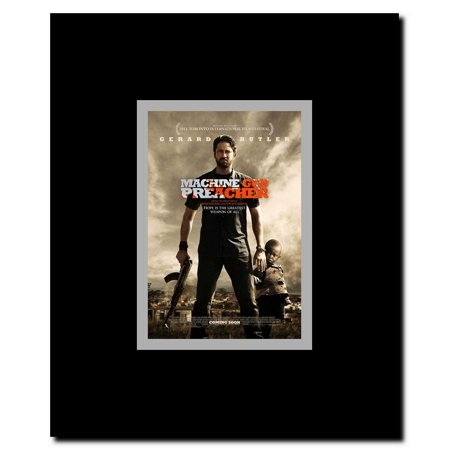 Machine Gun Preacher Framed Movie Poster Walmart Com