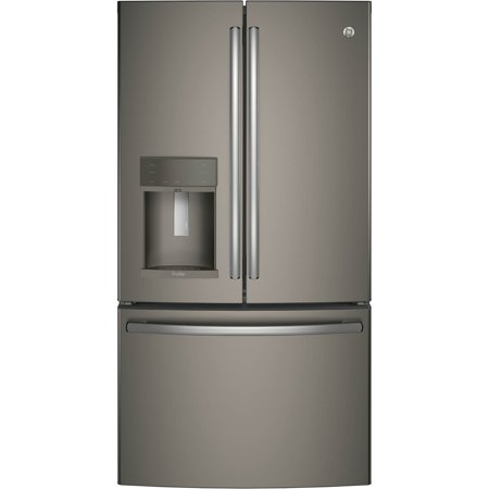 GE  Profile Series Energy Star Counter-depth French-door Refrirator Samsung Counter Depth Refrigerator