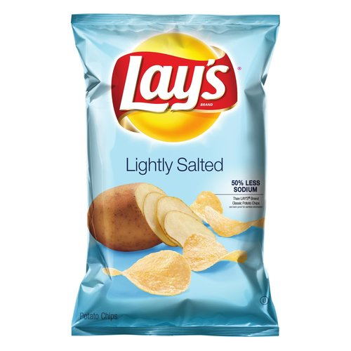 Lay's Lightly Salted Potato Chips, 10 oz