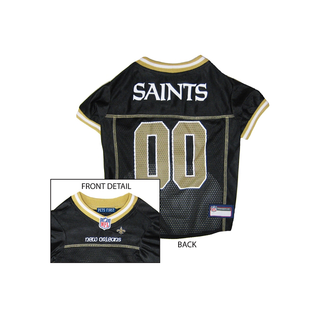 Pets First New Orleans Saints NFL Dog Jersey - Small