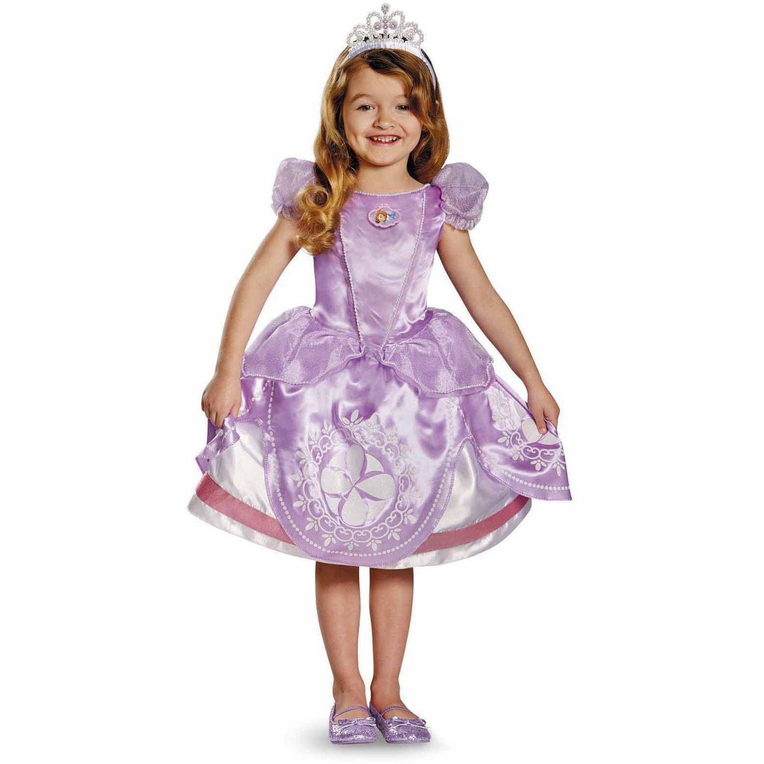 Disney Sofia the First Deluxe Girls' Toddler Halloween Costume
