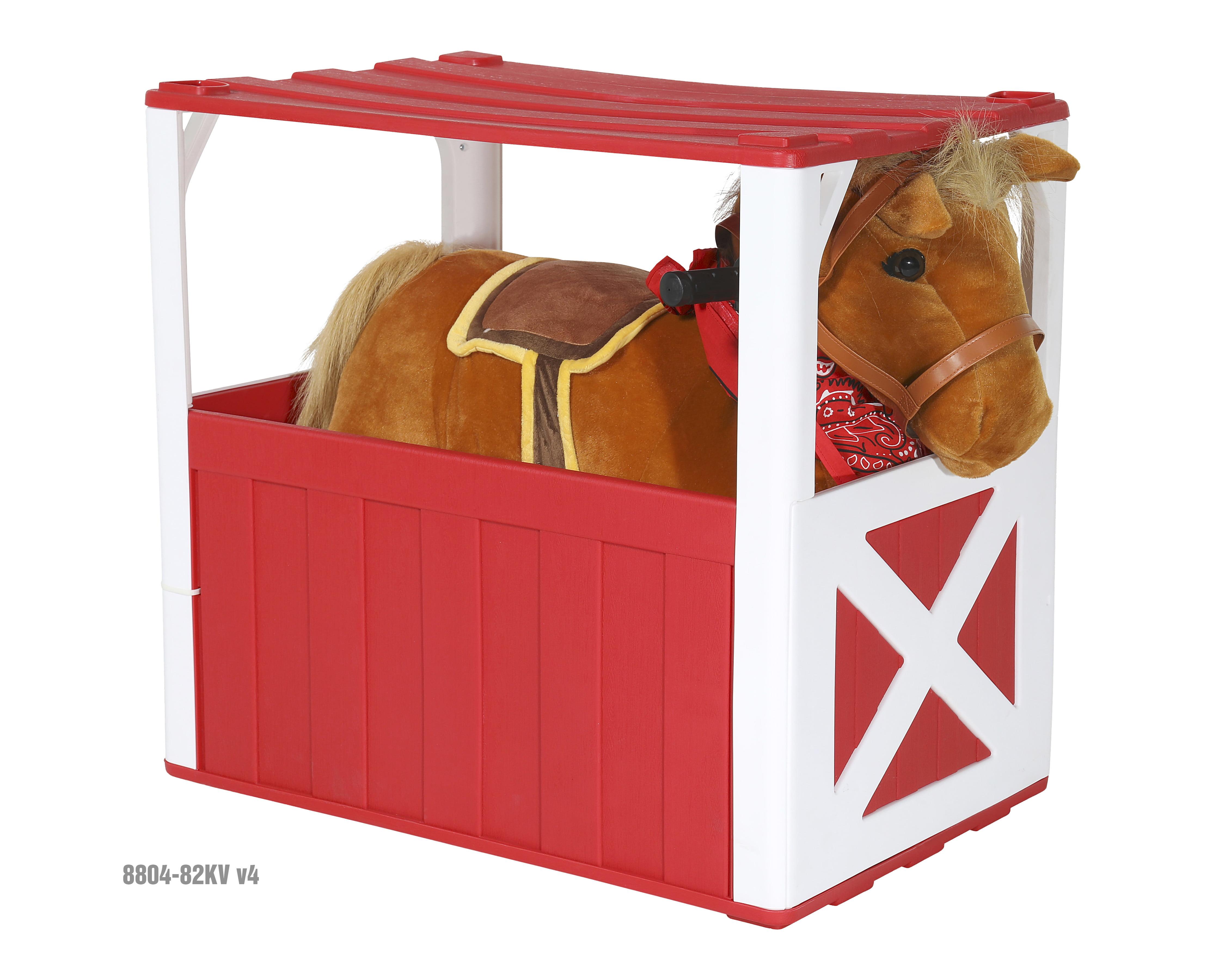 6 Volt Stable Buddies Chestnut Horse Plush Ride-On by Dynacraft