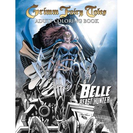 Grimm Fairy Tales Adult Coloring Book: Belle - Adult Furries