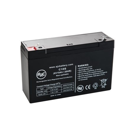 Fortress Best Power Fortress LI 750 BAT-0063 6V 10Ah UPS Battery - This is an AJC Brand