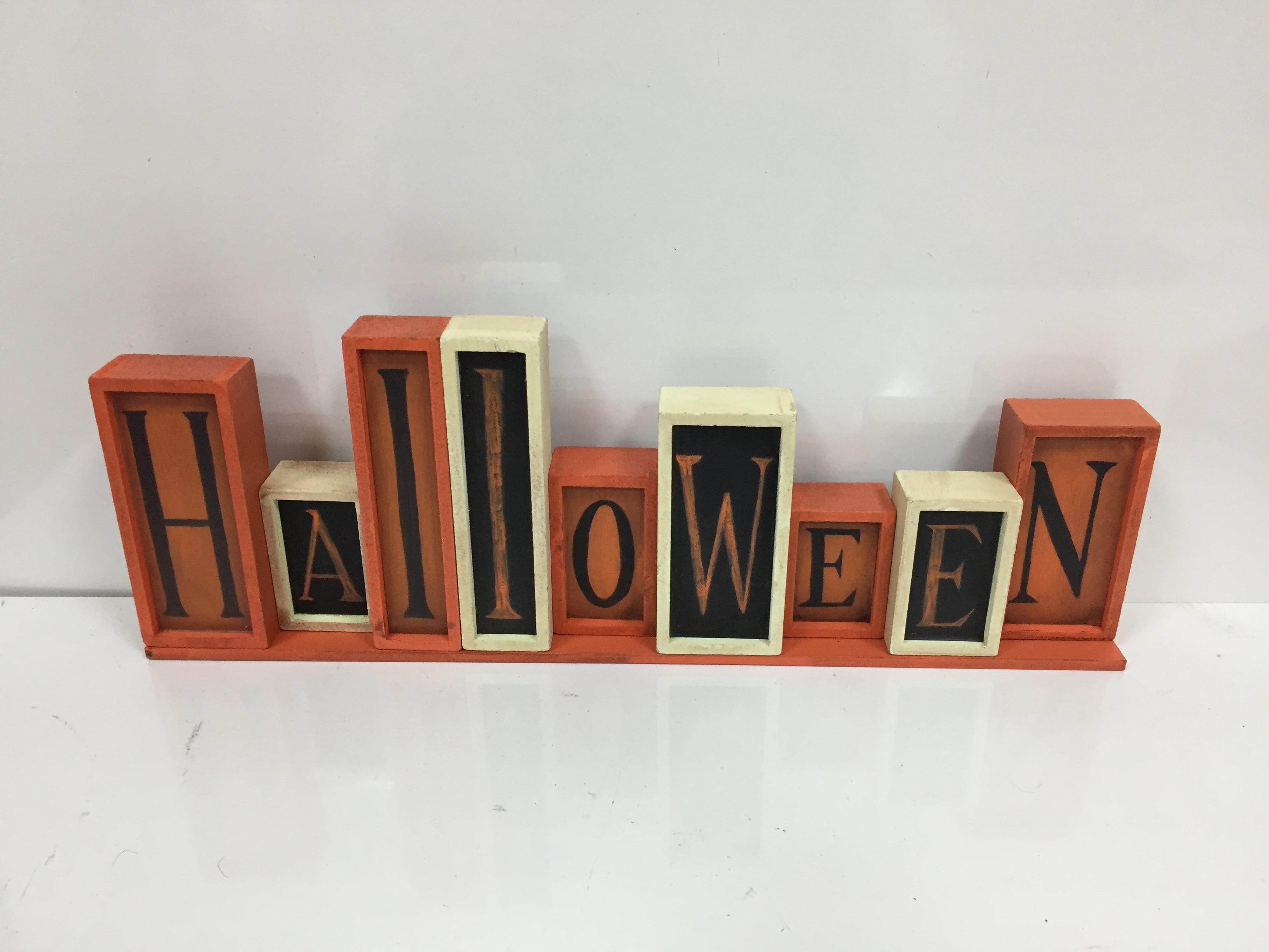 Halloween Tabletop Decor