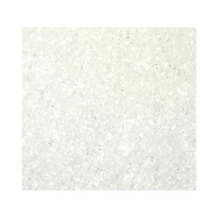 Sugar Sanding White Bakery Topping Sprinkles 8 ounces for $<!---->