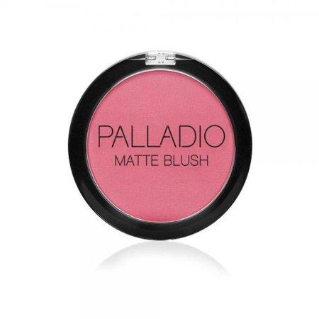 Palladio Silk - Palladio Herbal Matte Blush, Peach Ice, 0.21 Ounce