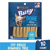 Purina Busy Toy Breed Dog Bones Tiny - 10 ct. Pouch