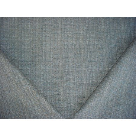 Designer Tweed - 160H17 - Sea Green / Aqua / Toast Textured Tweed Plains Strie Designer Upholstery Drapery Fabric - By the Yard