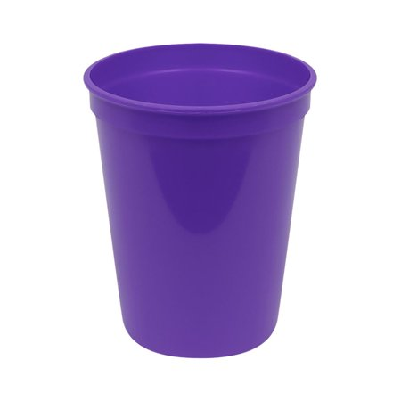 Plastic 16 oz stadium cup purple (25) For PKG(25) - Stadium Cups