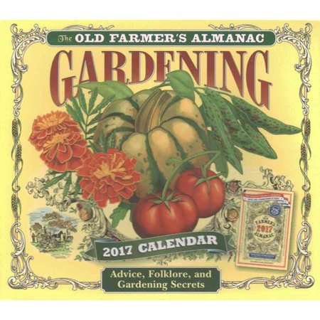 The Old Farmer 39 S Almanac Gardening 2017 Calendar