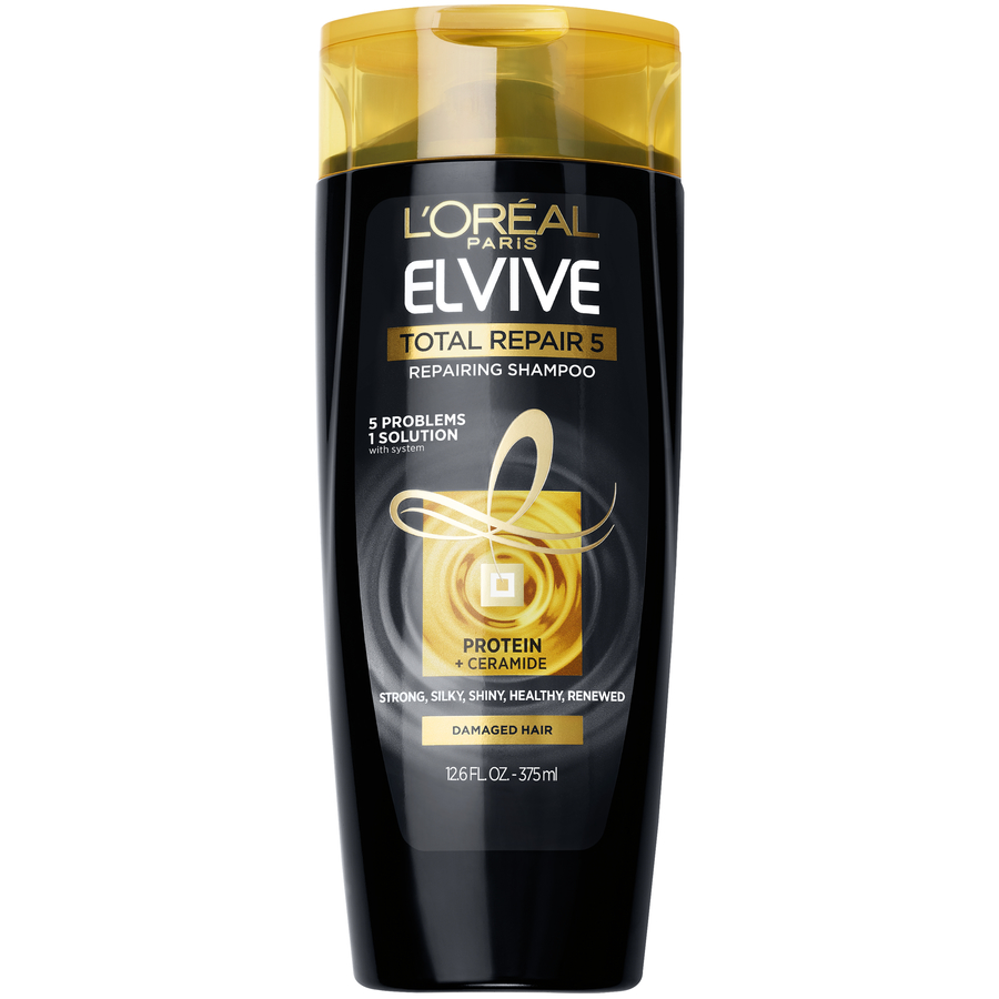 L'Oreal Paris Elvive Total Repair 5 Repairing Shampoo 12.6 FL OZ