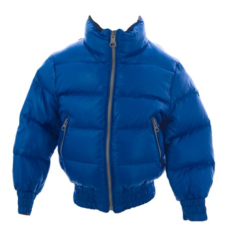 Boys Down Jacket Clearance (TRE UNO TRE Boy's Reversible Down Jacket Brilliant)
