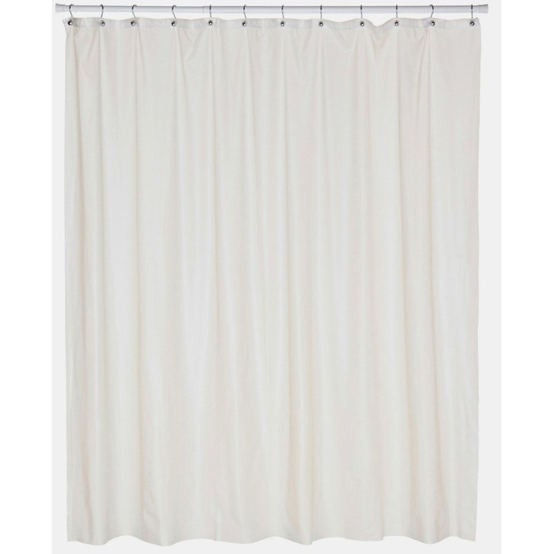 Carnation Home Fashions Stall Size Heavy Duty Vinyl Shower Curtain Home Design Idea