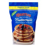 Krusteaz Complete Buttermilk Pancake Mix, 5 lbs Family Size Bag
