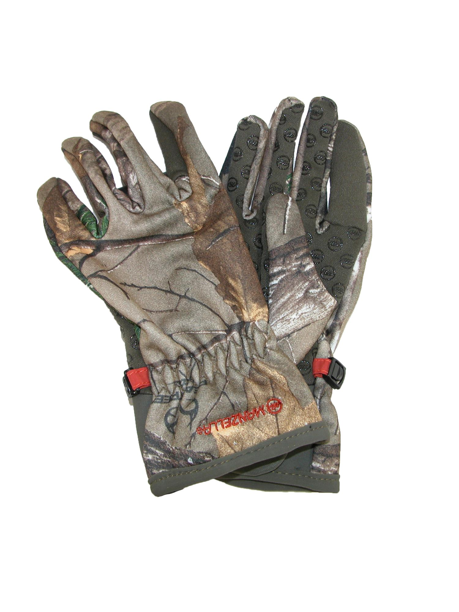 Manzella Women's Realtree Xtra Camouflage Bow Ranger Hunting Gloves by Manzella