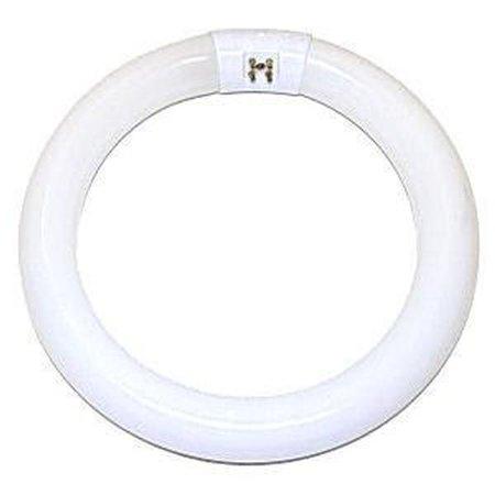 Satco Compact Fluorescent Lamp  T9, Circline, 3000k, 82 Cri, 4-pin, 9