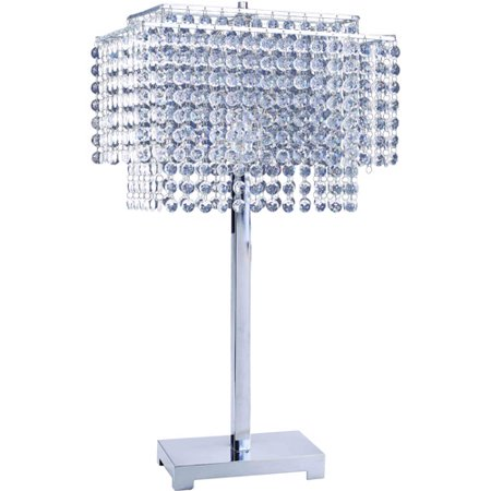 Ore International 28 Quot Crystal Strings Table Lamp Walmart Com
