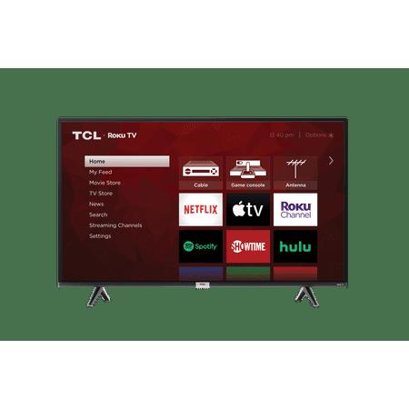 "Refurbished TCL 43"" Class 4-Series 4K UHD HDR LED Smart Roku TV 43S435-B"