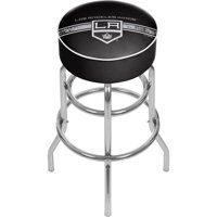 NHL Chrome Bar Stool with Swivel, Los Angeles Kings