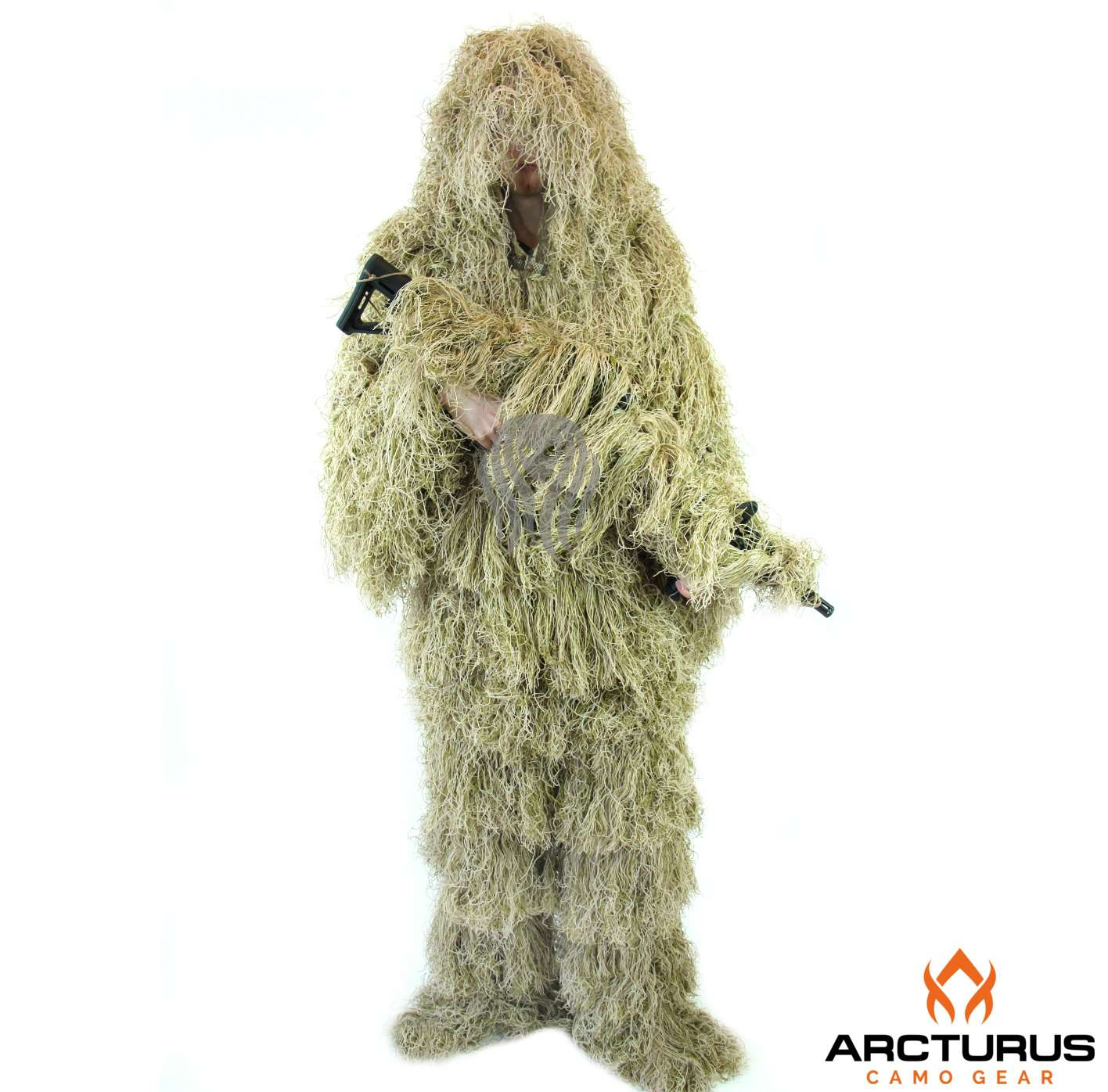 Ghost Ghillie Suit by Arcturus Camo Advanced 3D Camo (Woodland, Regular) by Arcturus Camo
