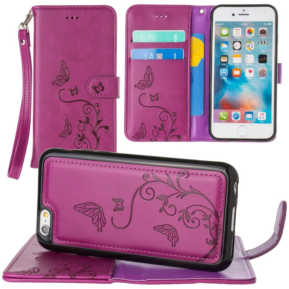 wallet on iphone cellularoutfitter apple iphone 6 6s 7 8 wallet 8722