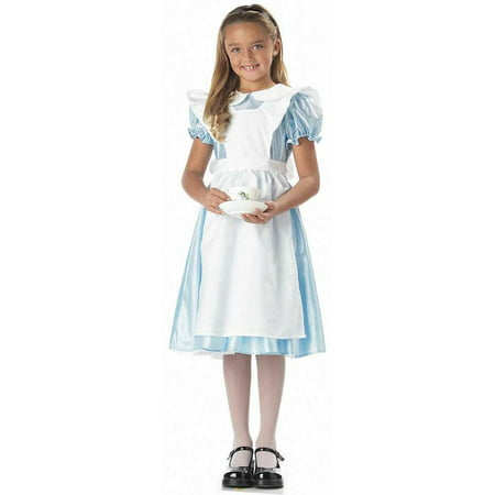Child Alice In Wonderland Costume California Costumes 602 (White Rabbit Halloween Costume Alice Wonderland)