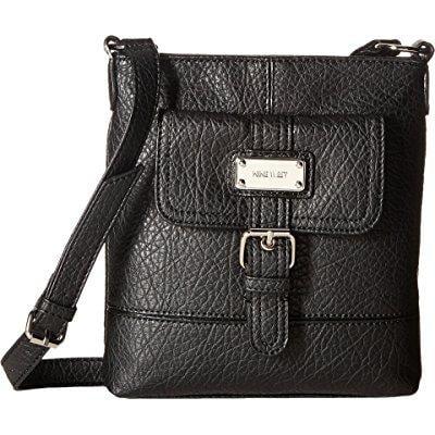 Nine West Women S Rocky Black Handbag