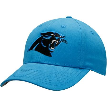 Carolina Panther Colors (Youth Blue Carolina Panthers Basic Team Color Adjustable Hat -)
