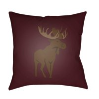Surya Moose Outdoor Pillow