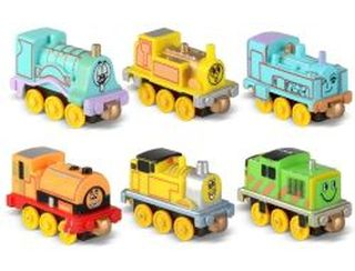Toy Train Engine With Magnetic Coupler 3 Random Style by Wind Up Toys