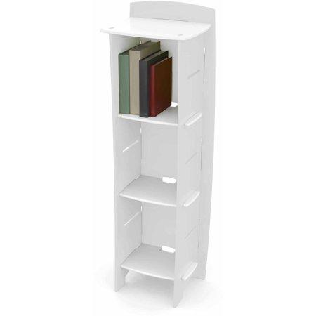 legare kids furniture 3 shelf bookcase white. Black Bedroom Furniture Sets. Home Design Ideas