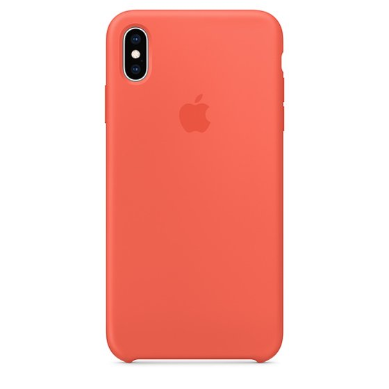 online store 44b77 a6d52 Apple Silicone Case for iPhone XS Max - (PRODUCT)RED