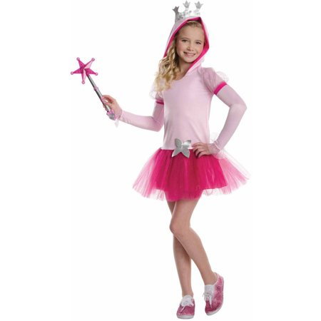 Glinda the Good Witch Hooded Child Halloween Costume (Kids Good Witch Costume)