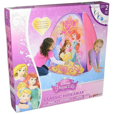 Disney Princess Classic Hideaway Playhouse, Pink, Play hide & seek By Playhut Ship from US (Disney Princess Playhouse)