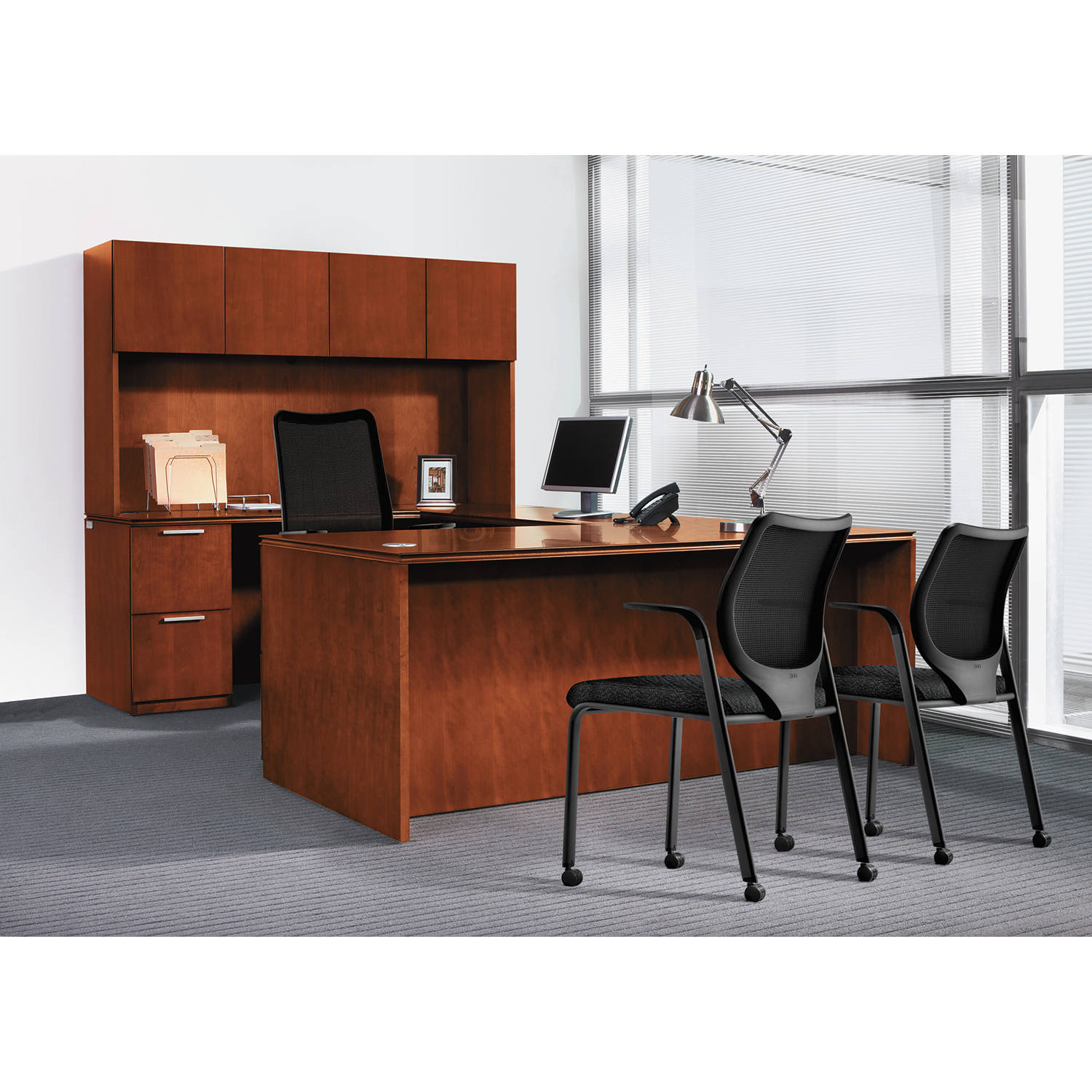 HON Arrive Wood Veneer Office Suite