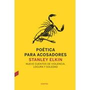 Poética para acosadores - eBook