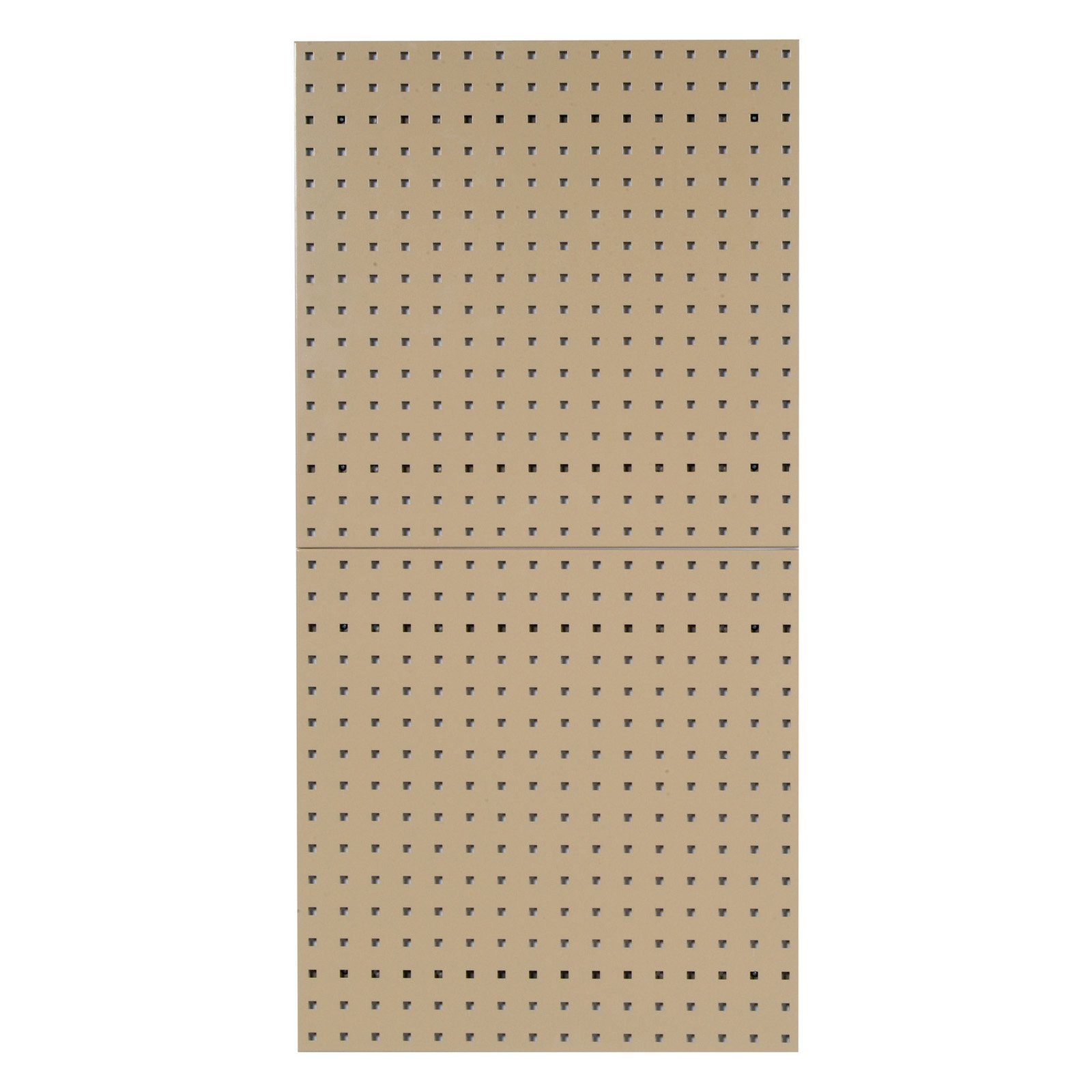 Triton LocBoard Epoxy Coated Square Hole Pegboard - Set of 2
