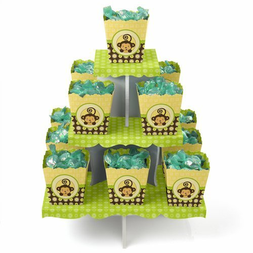 Monkey - Candy Stand & 13 Party Candy Boxes