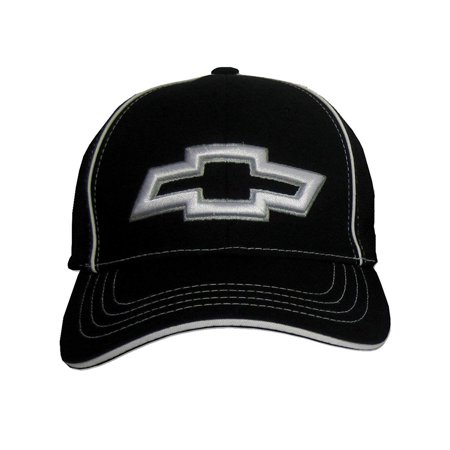 Chevy 3D Bowtie Fitted Flexfit Hat - Black, Large/XL](Chef's Hat)