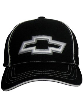 bbd1a92ebd5 Product Image Chevy 3D Bowtie Fitted Flexfit Hat - Black
