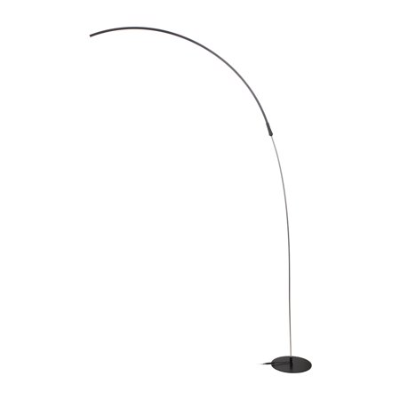 Brightech - Sparq LED Arc Floor Lamp - Curved ...