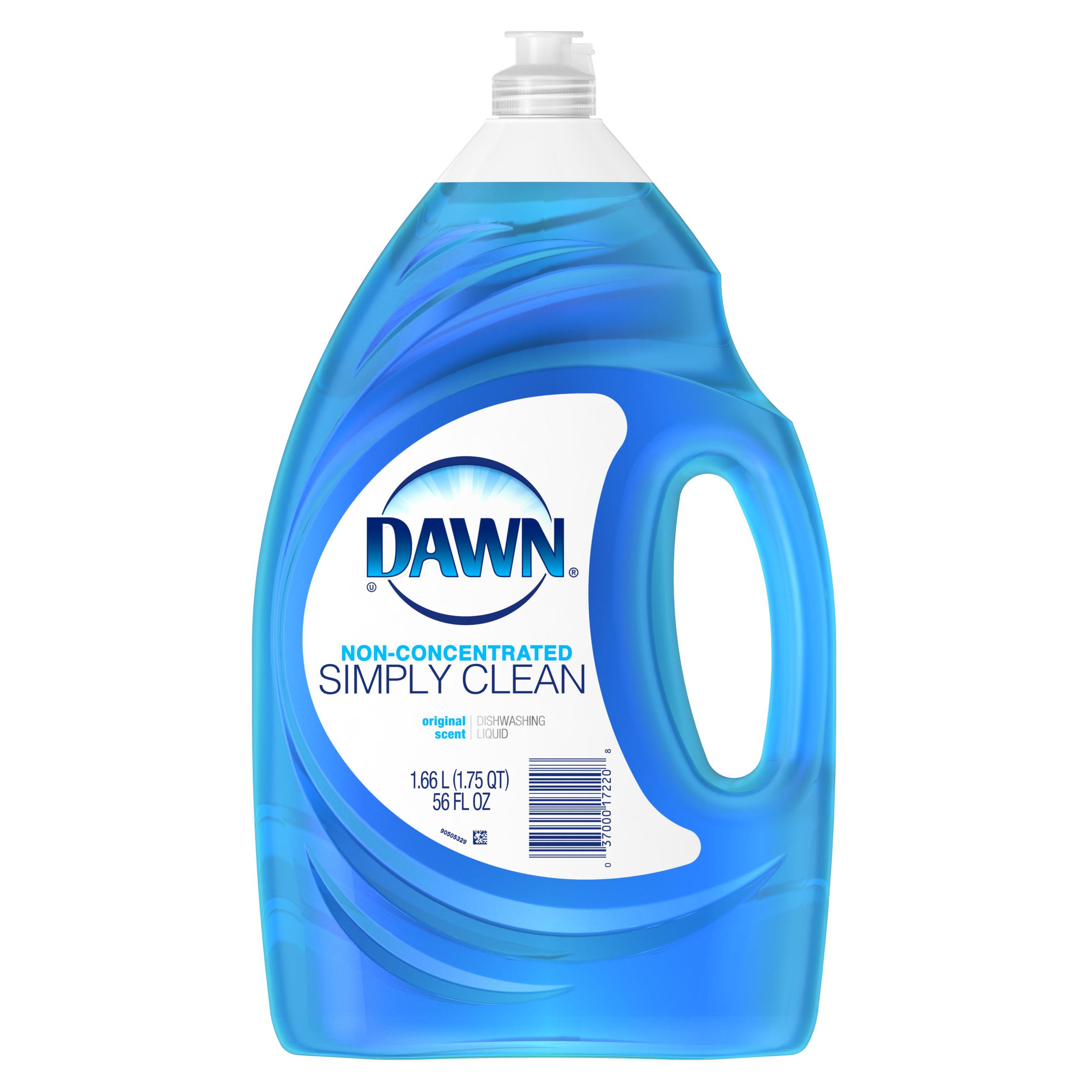 Dawn Non-Concentrate Original Dishwashing Liquid 56 Fl Oz