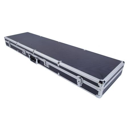 UBesGoo Long Aluminum Locking Gun Rifle HandGun Lock Box Case with 2 Combination Lock (Long Pistol)