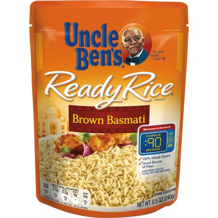 UNCLE BEN'S Ready Rice: Brown Basmati, 8.5oz (Best Brown Basmati Rice Recipe)