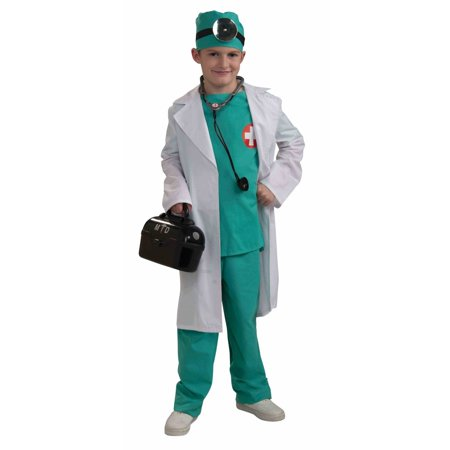 Halloween Child Chief Surgeon Costume