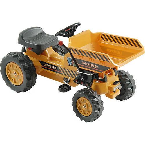 Kalee Dump Tractor, Yellow