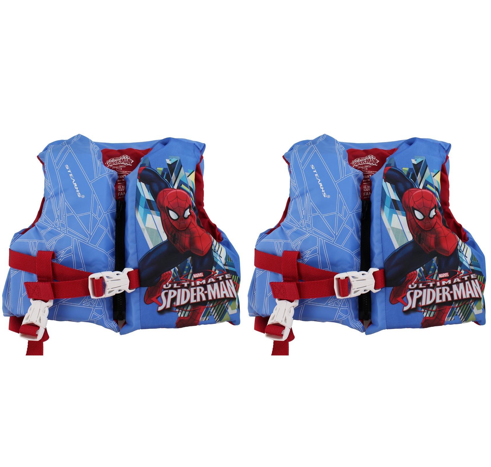 Coleman Stearns Spiderman Infant Pool Lake Life Jacket w/...