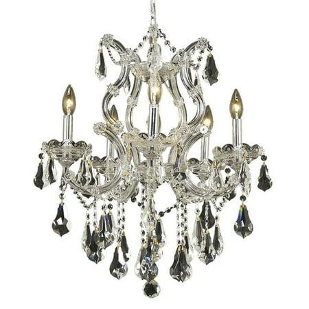 "Elegant Lighting Maria Theresa 20"" 6 Light Royal Crystal Chandelier - image 1 de 1"